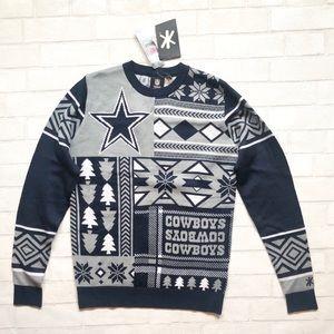 NWT NFL Dallas Cowboys Sweater